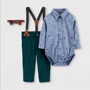 HP🎊🎉Carter's 3 piece baby boy suit 12 months
